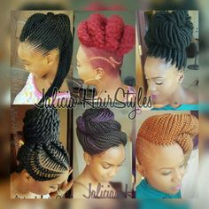 Braids Updo For Black Women Shaved Sides 33 Ideas Black Little Girl Hairstyles, Braided Hairstyles For Black Women, Braids For Black Women, Braids With Shaved Sides, Pretty Braids, Cool Braid Hairstyles, Love Your Hair, Braided Updo, Bun Updo