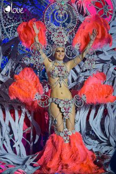 2 Dama de Honor Carnaval Santa Cruz de Tenerife 2014