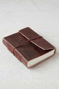 Tooled Medallion Mini Journal - Urban Outfitters
