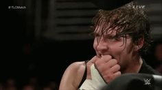 That's What I Do Whenever I See Dean On Smackdown/Raw... I DO IT ALL THE TIME<3<3<3<3<3<3<3<3