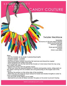 how to rock candy jewelry rock candy candy jewelry and make