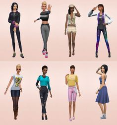Netz-à-porter – outfits ready to wear for your sims (no CC required) - Page 2 Sims 4 Cas, Sims 1, Sims 4 House Design, Sims 4 Cc Packs, Sims Four, Sims 4 Clothing, Nice Dresses, Ready To Wear, Fashion Outfits