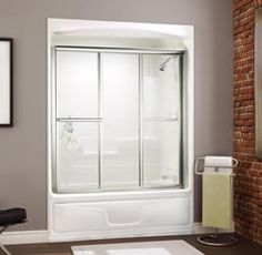 MAAX Studio 1 Piece Tub Shower Including Roof Cap. Bath Shower Modul 100099: