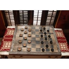 #Old Wood Game Board