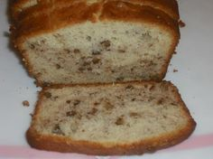 Banana/Cream Cheese Bread  3/4 cup butter, softened   8 ounces cream cheese, softened   2 cups sugar   2 large eggs   3 cups all-purpose flour   1/2 teaspoon baking powder   1/2 teaspoon baking soda   1/2 teaspoon salt   1 1/2 cups mashed bananas (1 1/4 pounds unpeeled bananas, about 4 medium)   1 cup chopped pecans   1/2 teaspoon vanilla extract   350° for 1 hr.