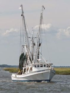 US restaurant buys two tons of local shrimp for off-season Louisiana Swamp, Edisto Island, Shrimp Boat, Sailboat Painting, Boat Art, Ship Art, Tall Ships, Pictures To Paint, Coastal Style