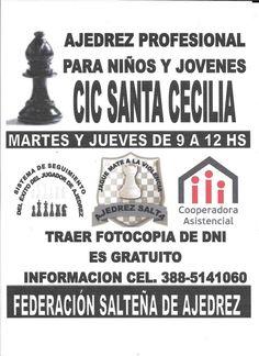 Ajedres Profesional en el CIC de Santa Cecilia