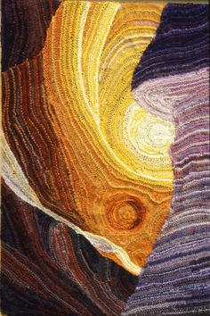 Shell Canyon by Debbie New from _Knitting Art_ by Karen Searle