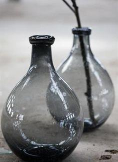Swedish Bottles in Gray