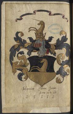 Livre des procurateurs de la Nation Germanique ( Arch. dép. du Loiret, D 214) Vintage World Maps, Moose Art, Animals, Animais, Animales, Animaux, Animal, Dieren