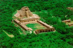 Mayan ruins of Uxmal in Yucatan, Mexico
