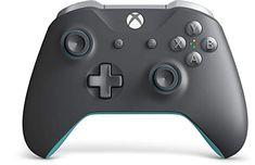 Amazon.com: Xbox Wireless Controller - Grey And Blue: Electronics Xbox One Controller, Xbox 360, Xbox One S, Xbox One Games, Xbox One White, Manette Xbox One, Microsoft, Xbox Accessories, Consoles
