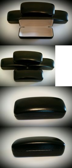 Eyeglass Cases: Qty 10 Wholesale Lot Glasses Case Eyeglasses Hard Case Black - Fast Usa Shipping BUY IT NOW ONLY: $35.0
