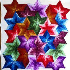 Pamelaquilts: Nursery Rhymes and Star Shuffle progress