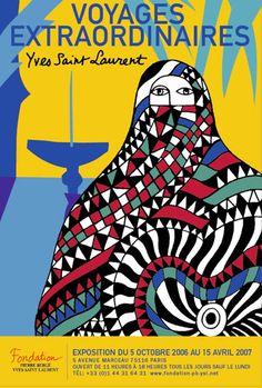 Pierre Bergé et Yves Saint Laurent. Yves Saint Laurent, Saint Laurent Rive Gauche, Marrakech, Fashion Illustration Vintage, Poster Ads, Commercial Art, Book Cover Art, North Africa, Map Art