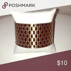 Fashion Bangle Fashion Black & Gold Metallic Bangle Jewelry Bracelets