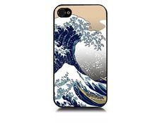 Great Wave iPhone 4 Case iPhone Cover by iArtMonograms on Etsy, $13.00
