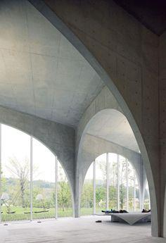 Biblioteca della Tama Art University, Tokyo by Toyo Ito Tokyo Architecture, Concrete Architecture, Amazing Architecture, Architecture Details, Landscape Architecture, Interior Architecture, Foster Architecture, Sustainable Architecture, Landscape Design