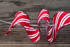 Hometalk :: Easy Ribbon Candy Wreath