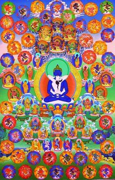 The Hundred Peaceful and Wrathful Deities