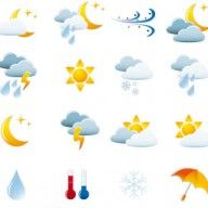 Find Weather Icon Set Easy Edit Vector stock images in HD and millions of other royalty-free stock photos, illustrations and vectors in the Shutterstock collection. Free Vector Graphics, Vector Icons, Vector Stock, Weather Icons, Stock Foto, Clipart, Icon Set, Vector Design, Design Elements
