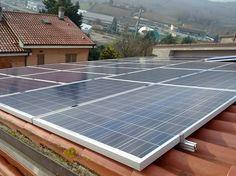 Impianto fotovoltaico ad ANCONA da 4,50 kWp su copertura - 20 moduli BRANDONI in SILICIO POLICRISTALLINO da 225 Wp
