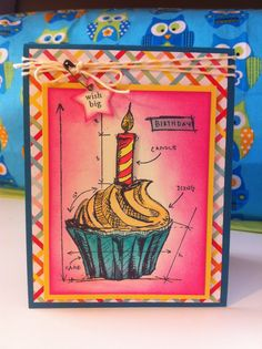 blueprint birthday tim holtz | Let me share some close up pictures with some details: