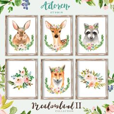 Girl Woodland Nursery Decor Boho Woodland Girl Nursery Decor