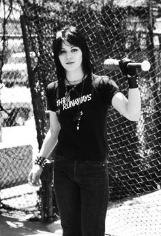 The baseball lovin' Joan Jett