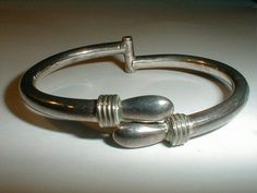vintage taxco mexico td sterling silver clamp by fadedglitter42263, $165.00