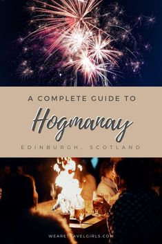 Hogmanay is a 3 day celebration during New Years in Edinburgh, famed for being a buckelist place. Read our top 10 things to know before your first Hogmanay! Hogmanay Scotland, Edinburgh Hogmanay, Edinburgh Castle, Edinburgh Scotland, Scotland Travel, Ireland Travel, Scotland Trip, Travel Advice, Travel Guides