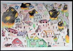 A Child's View of Gaza - 25 | The Palestine Poster Project Archives