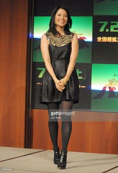Actress Lucy Liu attends the 'Kung Fu Panda' Press Conference at Park Hyatt Tokyo on July 15, 2008 in Tokyo, Japan. The film will open on July 26 in Japan.