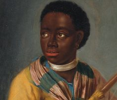 Dirck Valkenburg Portrait of a Young African Woman; Portrait of a Young African Man Holding a Bow Netherlands (c. 1706) A pair, the first oil on canvas laid down on panel, the second oil on panel,...