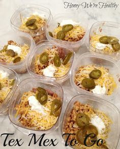 Tex Mex To Go.  Love this blog and also usually have a little extra turkey from my packages when I make my muffins.  Want to try this!