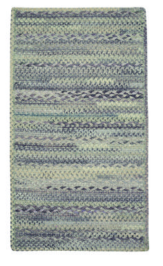 #kitchenrug in sage, granite, slate, and neutral, oval and square at Capel Rugs #MadeinAmerica