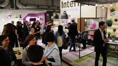 Lots of interest at the Interface Stand. #2017sff #design #interiordesign