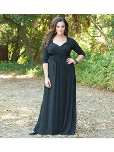 Veronica Maxi Dress in Black