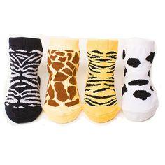 Coffret chaussette bébé 4 paires 0-12 m