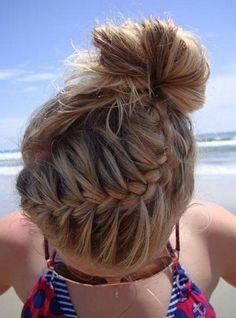 Peinados súper cute con trenzas