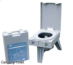 Camping Toilet - awesome choice. Need to take a look...