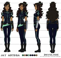 Jay's Final Turnaround by =Jay-Jacks on deviantART