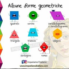 Italian Vocabulary, Italian Lessons, Moving To Italy, Italian Beauty, Italian Language, Learning Italian, Kids Learning Activities, Lesson Plans, Maths