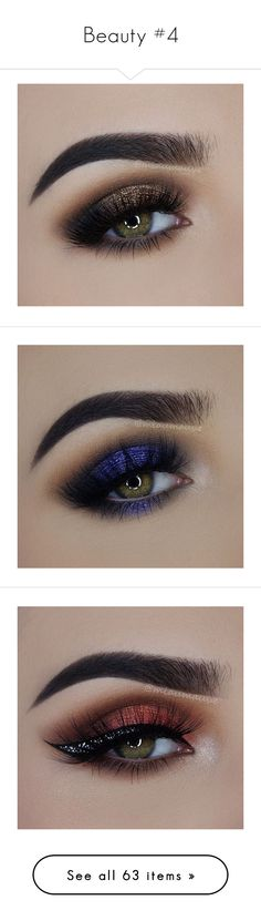"""Beauty #4"" by susannah-biersack ❤ liked on Polyvore featuring makeup, eyes, beauty products, lip makeup, lipstick, lips, beauty, eyeshadow, make and maquiagem"