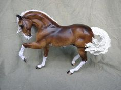 Custom Iberian by Montecello Studios He's beautiful! I love sliver bays! And with dapples their just perfect!
