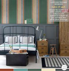 Colour Palette: A Stylish Teenage Bedroom – Bright.Bazaar