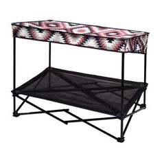 Quik Shade 36 in. W x 24 in. D Medium Southwestern Blanket Instant Pet Shade with Mesh Bed-160237 - The Home Depot