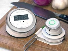 The iDevice Kitchen Thermometer Premiered at CES 2014 #kitchen trendhunter.com