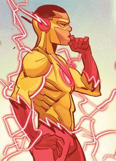 Kid Flash in The Flash Vol 5 #12 (2016) - Davide Gianfelice