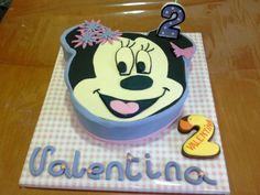 Tarta decorada Minnie / Minnie Mouse cake